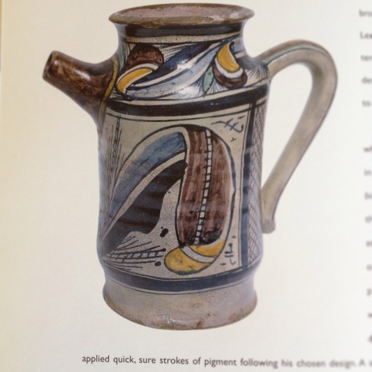 deruta pottery, source Minchilli, Elizabeth Helman in Deruta: a Tradition of Italian Ceramics. Chronicle Books, 1998.