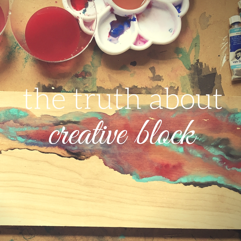 The truth about creative block