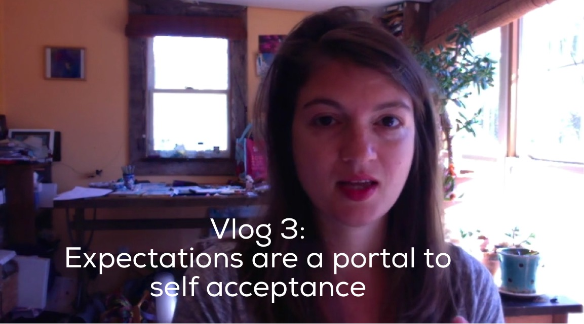 Expectations are a portal to self acceptance